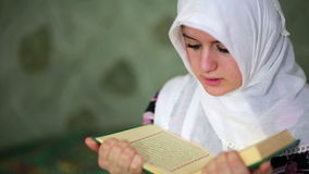 Muslim girl praying Royalty Free Stock Image