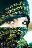 Muslim girl in studio Stock Image