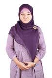 Muslim Girl. Wearing a hijab Stock Image