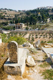 Muslim graveyard Stock Image