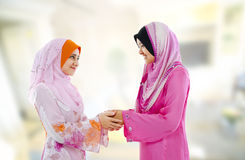 Muslim greeting royalty free stock image