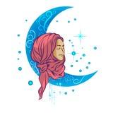 Muslim illustration Stock Images