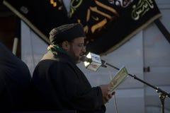 Muslim Imam Praying Royalty Free Stock Image