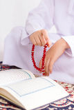 Muslim Kid in Ramdan Stock Photos