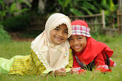 Muslim Kids Stock Image