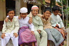 Muslim Kids Stock Photography