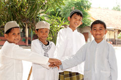 Muslim Kids, Friendship Royalty Free Stock Images