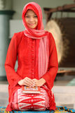 muslim koran удерживания девушки Стоковое фото RF