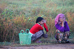 Muslim Lady of Cambodia Stock Images