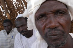 Muslim Leaders in Darfur stock images