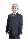 Muslim little cute kid with hat Stock Images