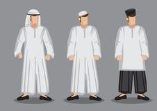Muslim Man Cartoon Character Vector Illustration Royalty Free Stock Photography