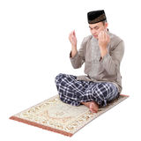Muslim man doing prayer Royalty Free Stock Photo