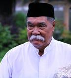 Muslim man at Idul Fitri, Indonesia Royalty Free Stock Image