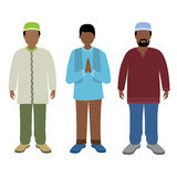 Muslim man. Vector illustration of muslim man Royalty Free Illustration