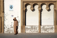 Muslim man waiting Royalty Free Stock Images