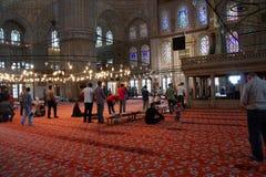 Muslim men answer  call to  prayers Stock Photos