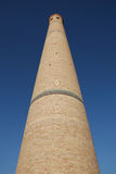 Muslim Minaret. Hazrati Imom in country Uzbekistan, city Tashkent. Hazrati Imom - the biggest  mosque middle asia Stock Images