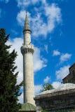 Muslim minaret Royalty Free Stock Photography