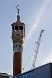 Muslim mosque. A Muslim mosque in London Stock Images