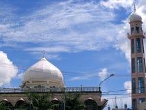 Muslim Mosque. Muslim building, Indonesia royalty free stock photos