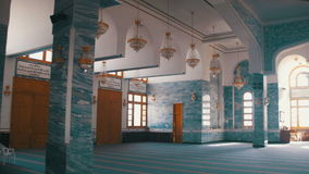 Muslim Mosque in Egypt stock video footage