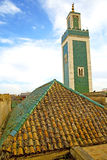 Muslim   in   mosque  the history     africa  minaret    sky Stock Images