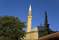 Muslim mosque of Komotini in Greece Royalty Free Stock Photo