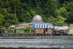 Muslim Mosque on Misool Island, Indonesia Stock Photography