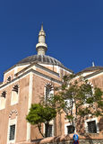 Muslim mosque at Rhodes, Greece Stock Image