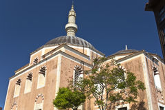 Muslim mosque at Rhodes, Greece Royalty Free Stock Photography