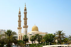 Muslim mosque, Shardjah Stock Photography
