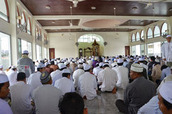 Muslim mosque. Showing faith in Islam mosque Stock Image