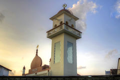 Muslim Mosque in Singapore Stock Photography