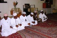 Muslim Nasheed performance Africa. Nasheed, performance by Muslims during Milad program in Nairobi Kenya Royalty Free Stock Photos