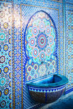 Muslim old mosque mosaic details Royalty Free Stock Photography