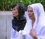 Muslim People at Idul Fitri, Indonesia Stock Photos