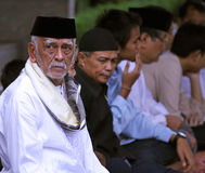 Muslim People at Idul Fitri, Indonesia Royalty Free Stock Photos