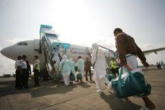 Muslim Pilgrim Going to mecca Royalty Free Stock Image