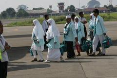 Muslim Pilgrim Going to mecca Stock Photos