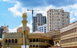 Muslim place of worship. Mosque in Dar es salaam Muslim place of worship Tanzania royalty free stock photography