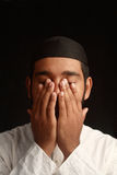 Muslim prayer stock images