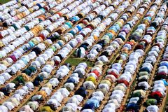 Free Muslim Prayer. A Group Of Muslim Are Praying. Royalty Free Stock Photos - 151039448