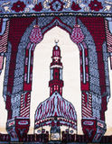 MUSLIM PRAYER CARPET Royalty Free Stock Image