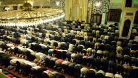 Muslim prayer stock video