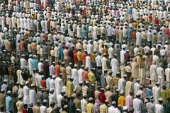 Muslim Prayers Stock Image