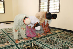 Muslim, Praying Stock Image