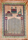 Muslim Praying carpet Royalty Free Stock Image