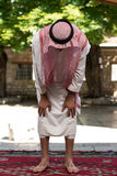 Muslim Praying In Mosque Royalty Free Stock Images