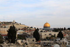 Muslim Quarter of Jerusalem Royalty Free Stock Photo